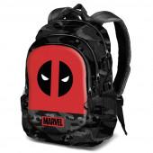 Mochila Escolar 44cm Deadpool Marvel