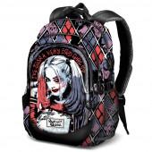 Mochila Escolar 44cm Harley Quinn DC Comics
