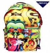 Mochila escolar 45cm Abstracto -  Privata Color