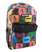 Mochila Escolar 45cm Fortnite Multicolor