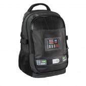 Mochila Escolar 47cm Acolchoada Star Wars