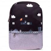 Mochila Escolar 8 Bit Super Mario 41cm