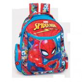 Mochila Escolar adap Premium 39cm Spiderman Thwaam