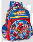 Mochila Escolar adap Premium 39cm Spiderman Thwip