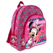 Mochila escolar adap trolley 2 fechos Disney Minnie Travel