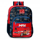 Mochila Escolar adap trolley 38cm Cars Rocket Racing