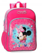 Mochila Escolar adap trolley 38cm Minnie Help Way