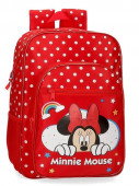 Mochila Escolar adap trolley 40cm Minnie Rainbow
