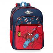 Mochila Escolar adap trolley 40cm Spiderman Pop
