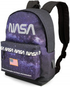 Mochila Escolar adap trolley 44cm Nasa Galaxy