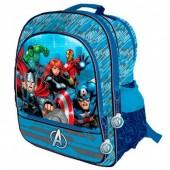 Mochila escolar adap trolley Avengers Marvel Team