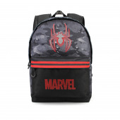 Mochila Escolar adap trolley Spiderman Dark 44cm