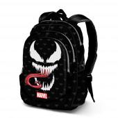 Mochila Escolar adap trolley Venom Marvel 44cm