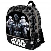 Mochila escolar adaptável 41cm  Star Wars - Darth Vader