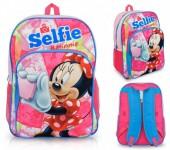 Mochila Escolar adaptável Minnie Mouse - Selfie 42 cm