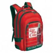 Mochila escolar adp trolley Coca Cola Red