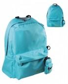 Mochila escolar Azul Bebé com porta moedas 42cm - Must