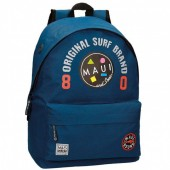 Mochila escolar Azul escuro 42cm adap. Maui & Sons - Surf