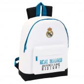 Mochila Escolar Branca 43cm Real Madrid History
