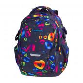 Mochila Escolar CoolPack Duo Rainbow Heart 44cm adp trolley