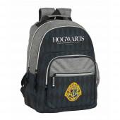 Mochila Escolar dupla 42cm adap trolley Harry Potter Hogwarts