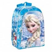 Mochila Escolar dupla face Frozen Elsa Ice 43cm