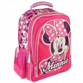 Mochila Escolar duplo bolso Minnie