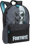 Mochila Escolar Fortnite Skull Trooper 43cm