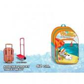 Mochila escolar Frozen Olaf Chillin, adp trolley