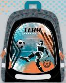 Mochila Escolar Futebol 43cm