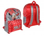Mochila escolar I Love Minnie 40cm