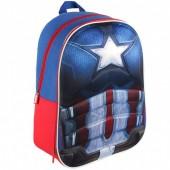 Mochila escolar Marvel Capitão América 3D EVA