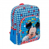 Mochila escolar Mickey Color Diamond 38cm