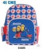 Mochila Escolar Minion london 2