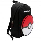 Mochila escolar Pokemon pokebola ajustável trolley