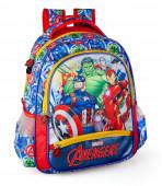 Mochila Escolar Premium 39cm Avengers Marvel