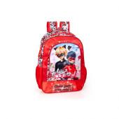 Mochila Escolar Premium 39cm Ladybug Show Your True Colors