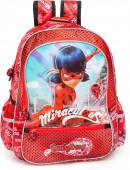 Mochila Escolar Premium 39cm Ladybug