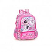 Mochila Escolar Premium 39cm Minnie I Believe in Unicorns