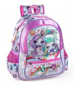 Mochila Escolar Premium 39cm Poopsie Dream In Color