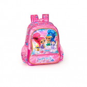 Mochila Escolar Premium 39cm Shimmer and Shine Wish