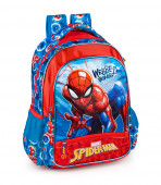 Mochila Escolar Premium 39cm Spiderman Webbed Wonder
