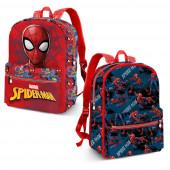 Mochila escolar reversível 40cm Spiderman - Hero