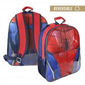 Mochila Escolar Spiderman 41cm Reversível