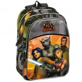 Mochila Escolar Star Wars Rebels Republic, adap Trolley