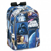 Mochila escolar Star Wars Space Adaptável 43cm