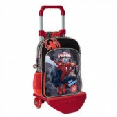 Mochila escolar trolley 2 bolsos Marvel Spiderman Go Spidey