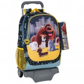 Mochila escolar trolley Mascotes Pets Up town