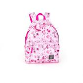 Mochila + Estojo Escolar Delbag Butterfly Pink