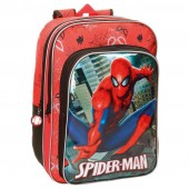 Mochila grande 40cm Spiderman - City